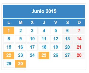Junio trae calendario fiscal importante